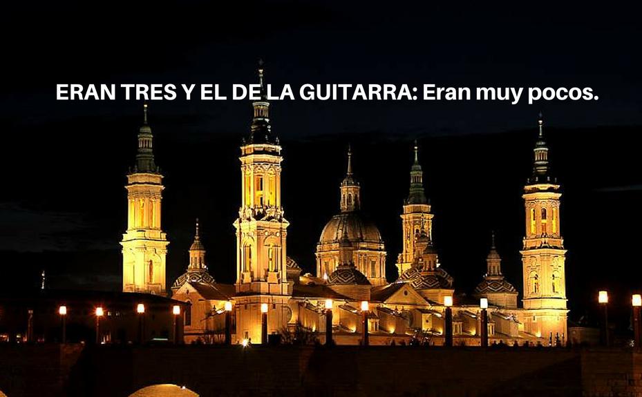 IBAN TRES Y EL DE LA GUITARRA- Iban muy pocos.