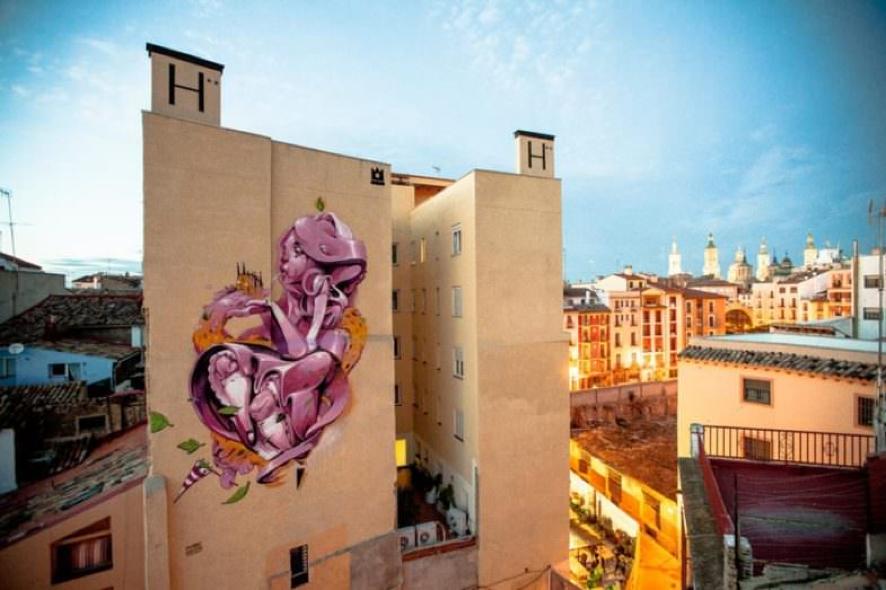 Los 5 graffitis más espectaculares de Zaragoza