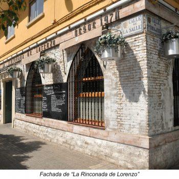 Fachada de LA Rinconada
