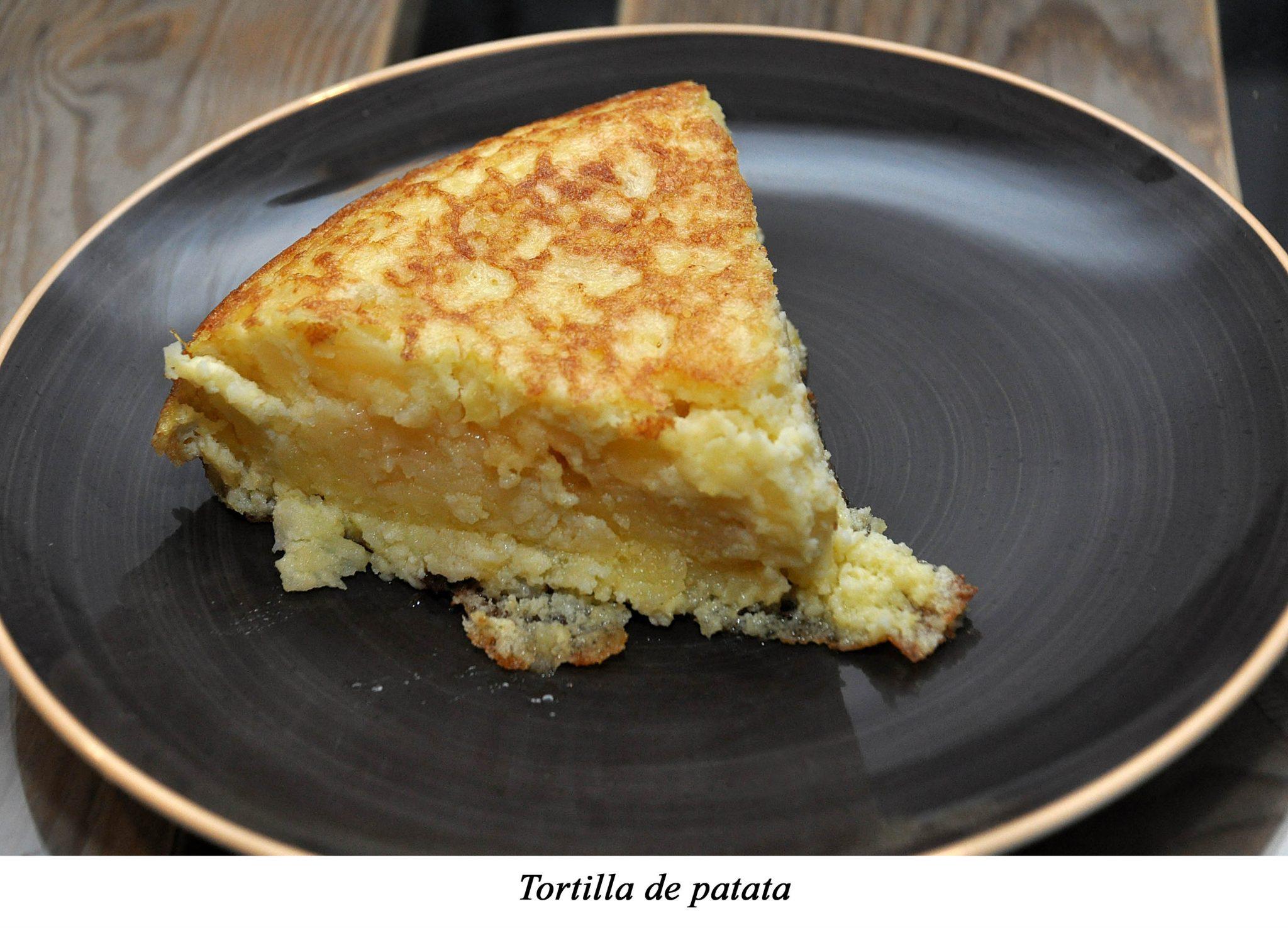 13. Tortiila de patata