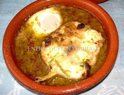 Congrio con huevos a la bilbilitana, la cocina plural
