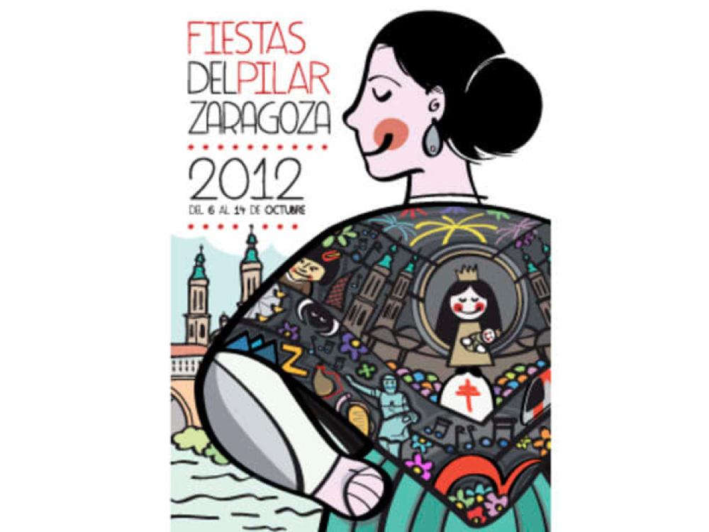 CARTEL FIESTAS DEL PILAR 2012