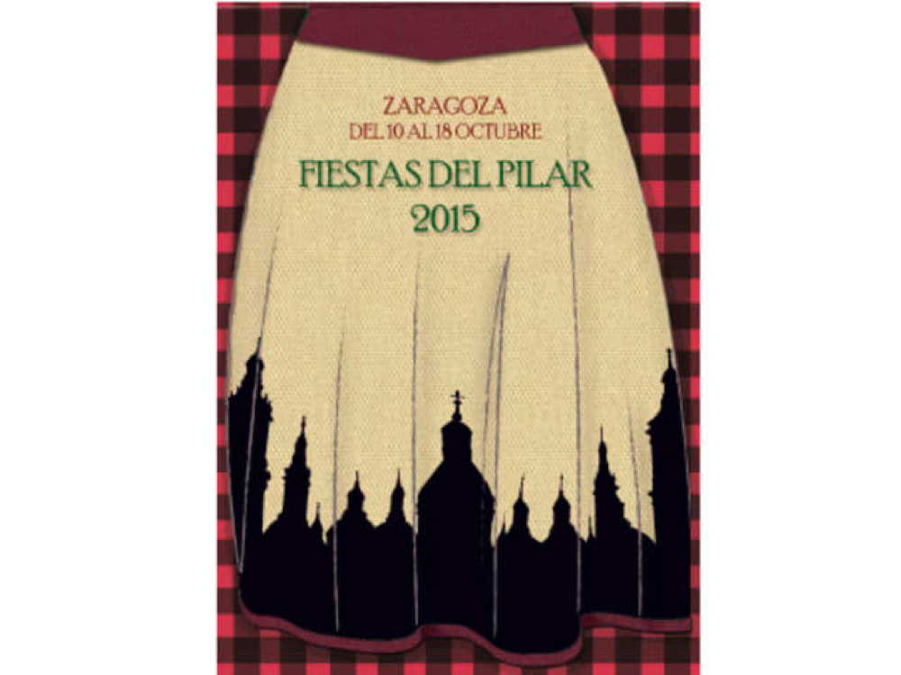 CARTEL FIESTAS DEL PILAR 2015