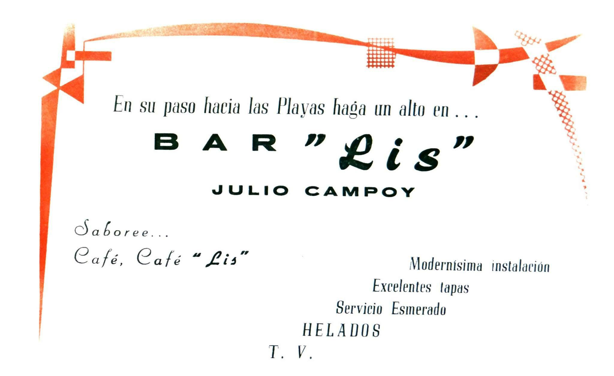 07. Bar Lis cartel