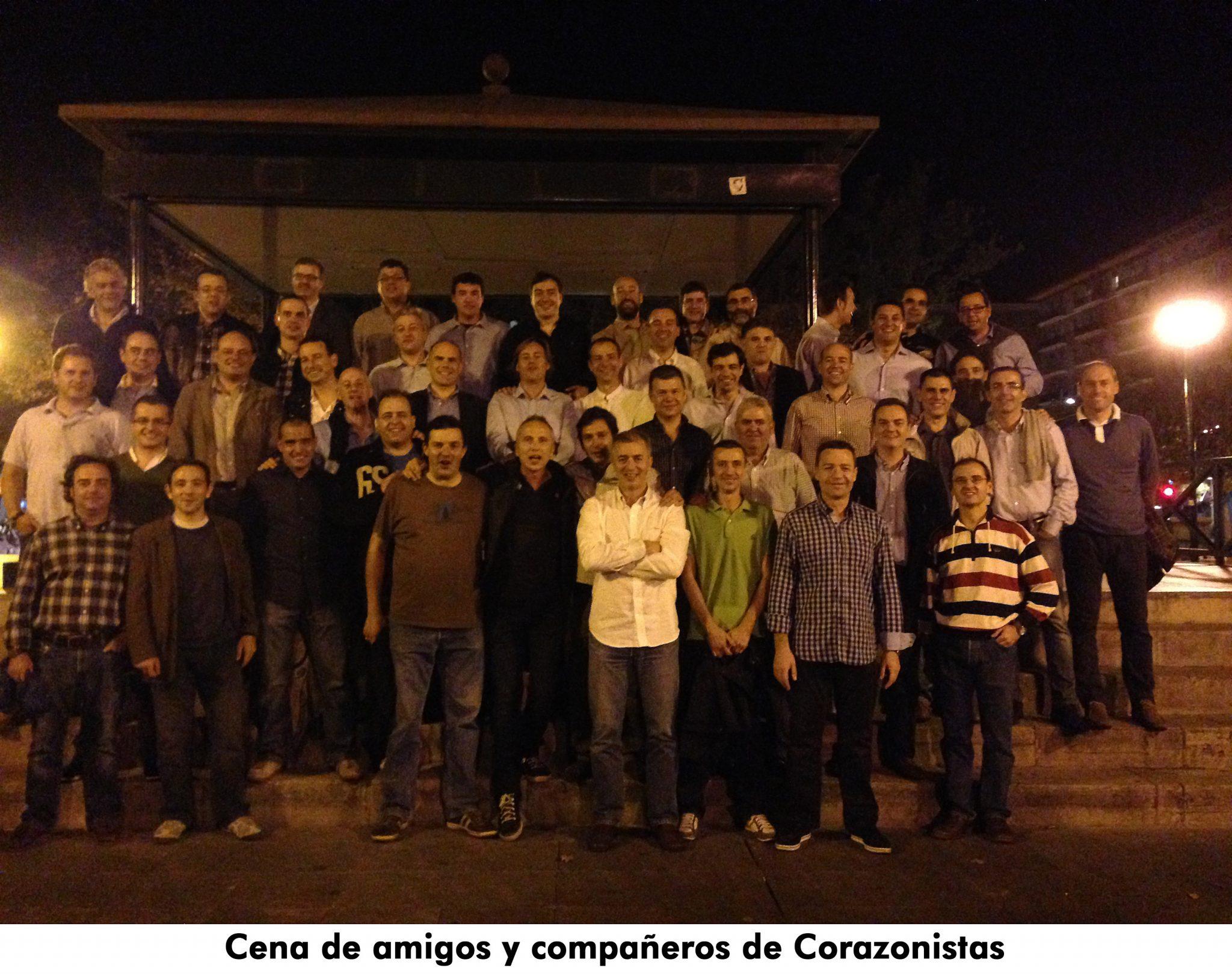 09. Cena de amigos de Corazonistas