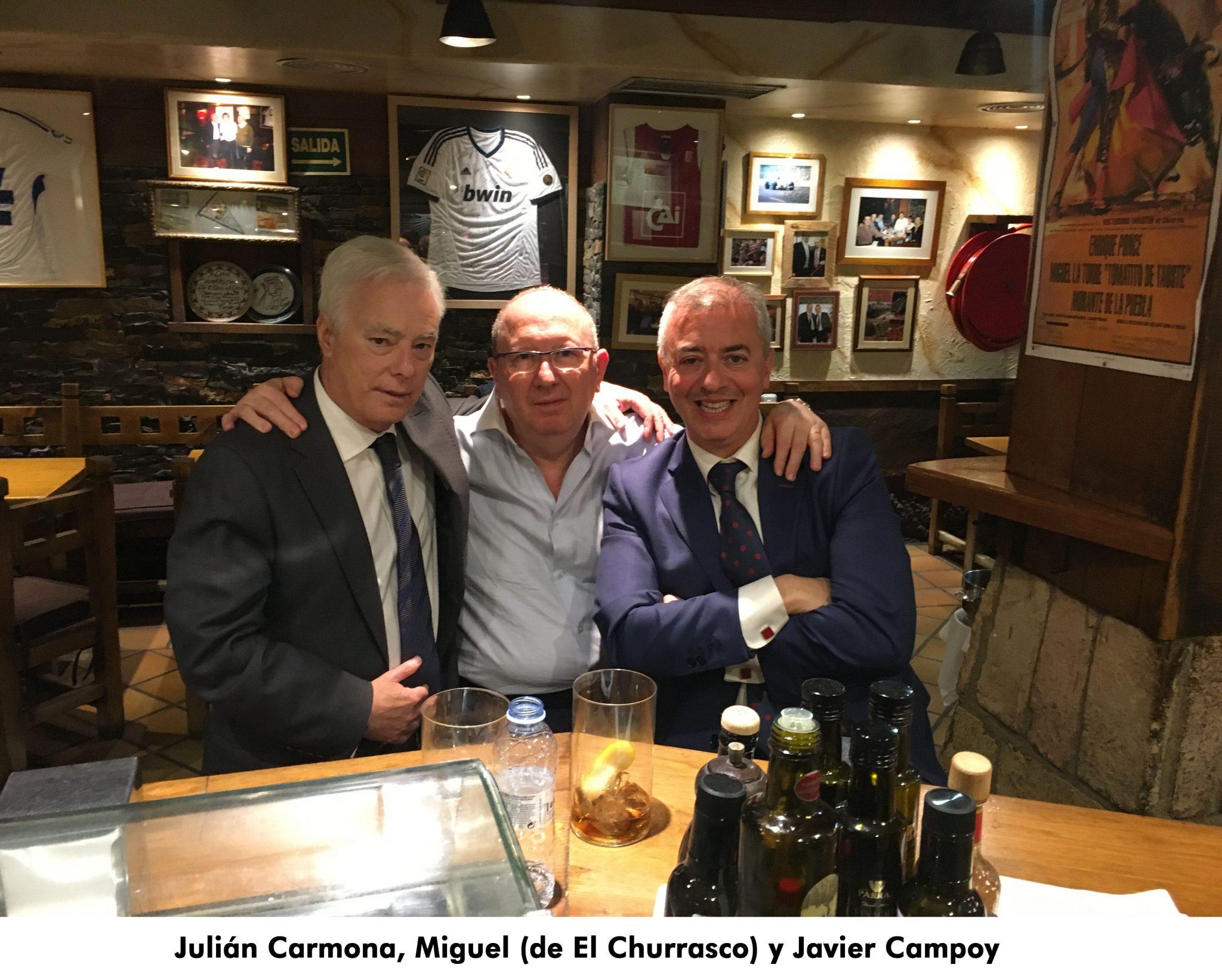 10. Julian Carmona, Miguel y Javier Campoy