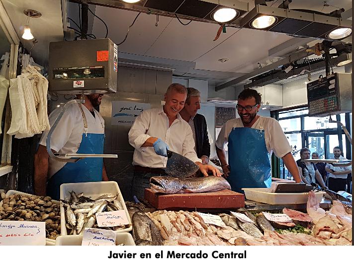 14. Javier en el Mercado Central