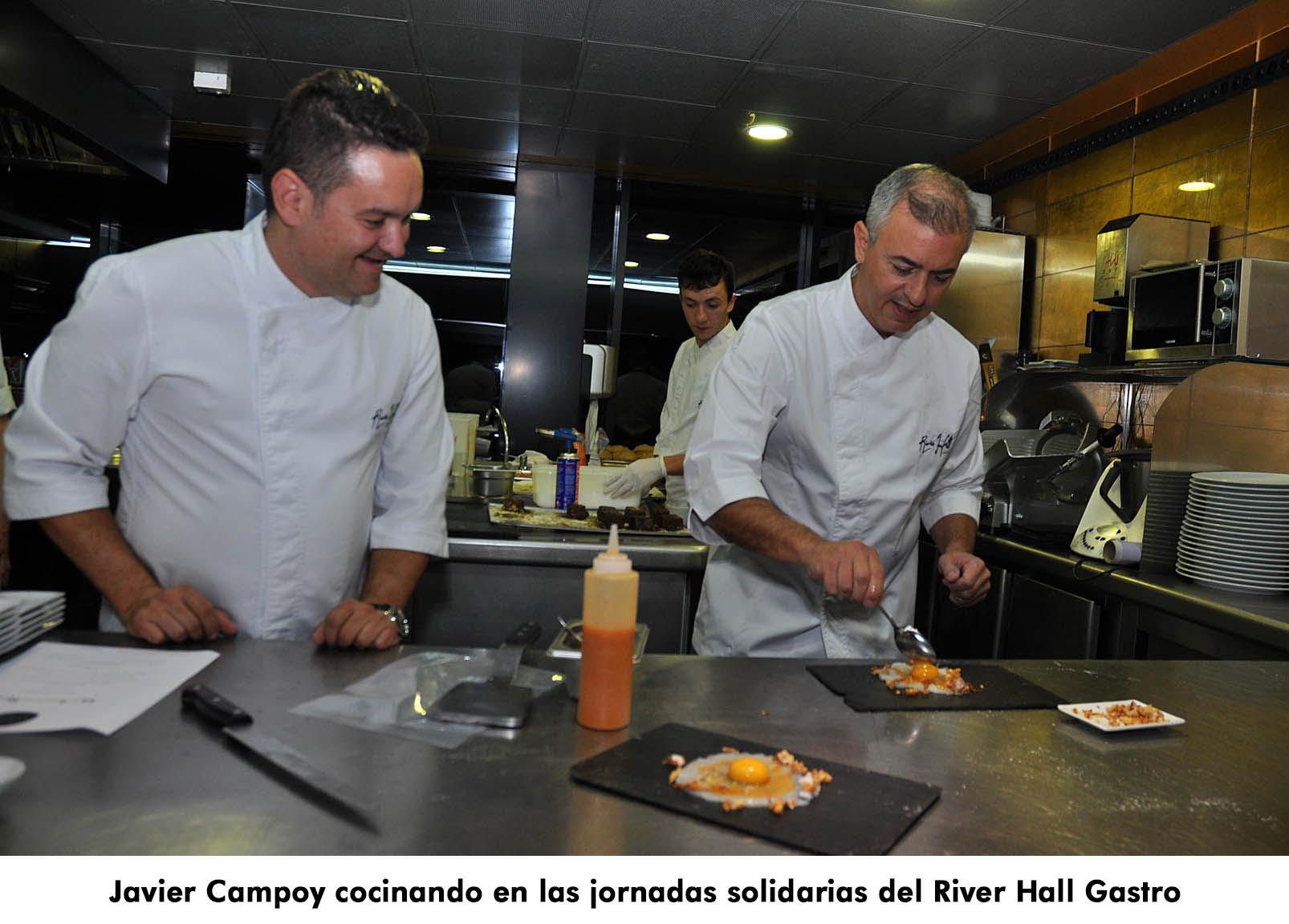 15. Javier en River Hall Gastro