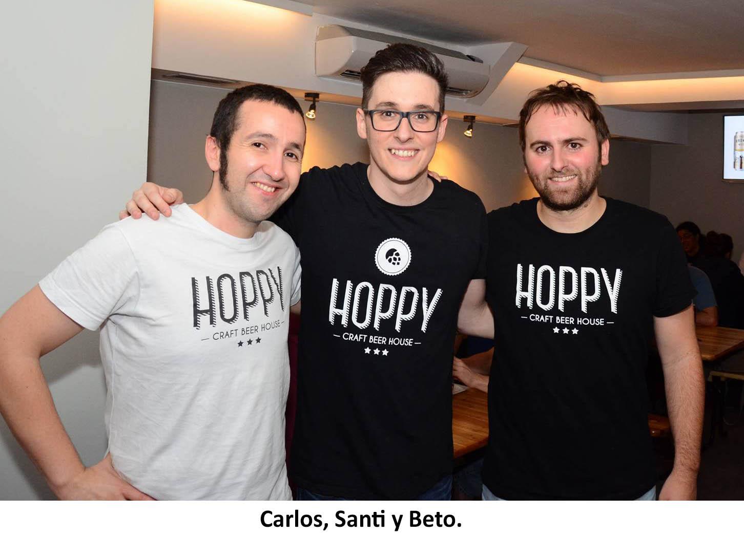 Carlos, Santi y Beto Hoppy