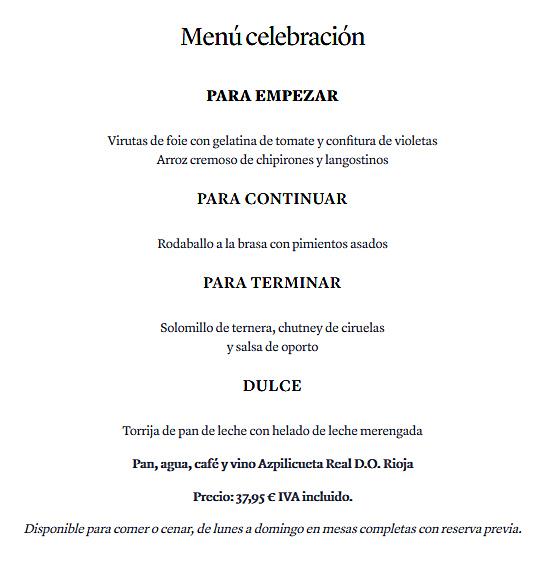 08. menu celebracion