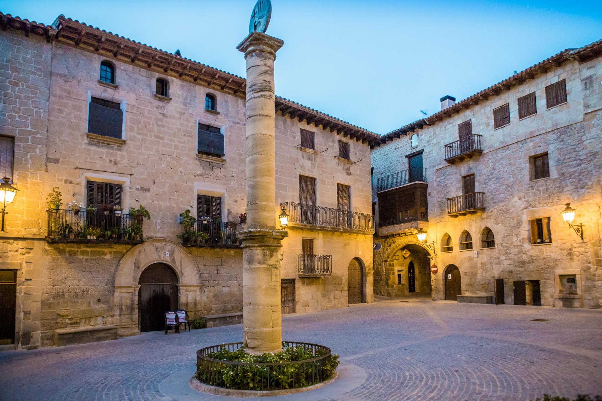 Pueblos De Teruel Mapa De Quemas En Aragon.Toscana Aragonesa La Ruta Que Hara Que Te Enamores Del