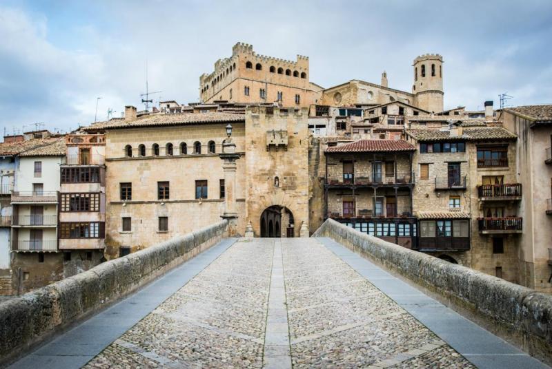 Pueblos De Teruel Mapa De Quemas En Aragon.Los 7 Pueblos De La Provincia De Teruel Entre Los 79 Mas