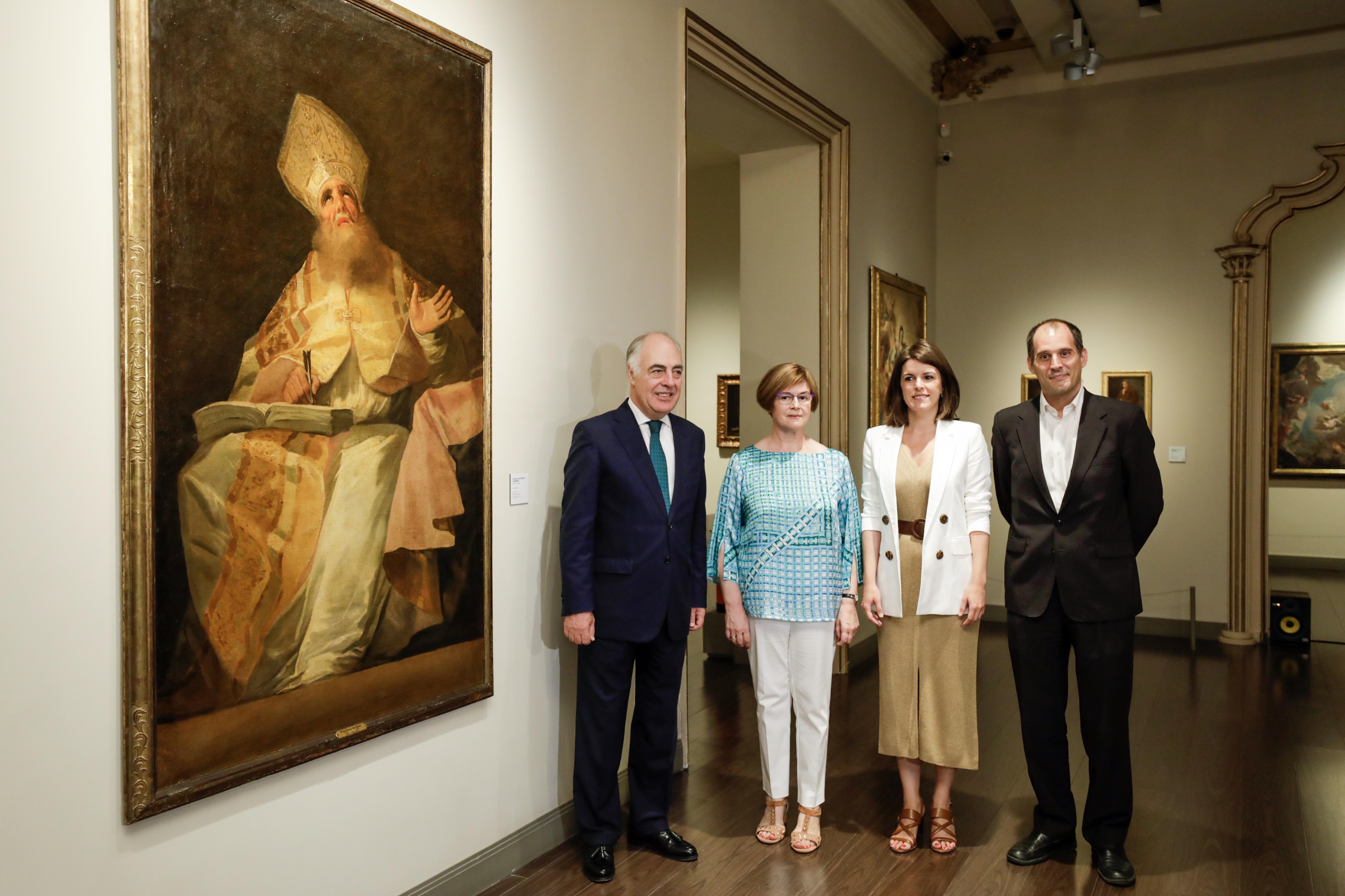 San Agustín. Museo Goya