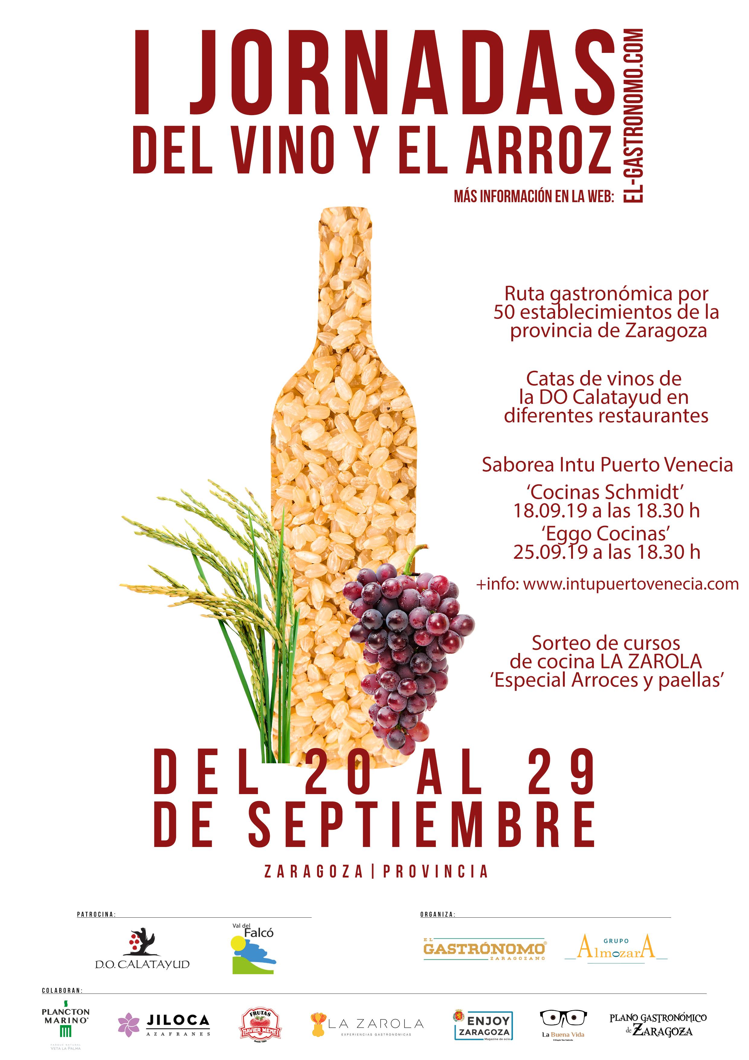 Cartel Jornadas Gastronomicas del vino y del arroz_Final con información
