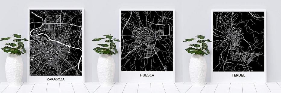 mapas decorativos