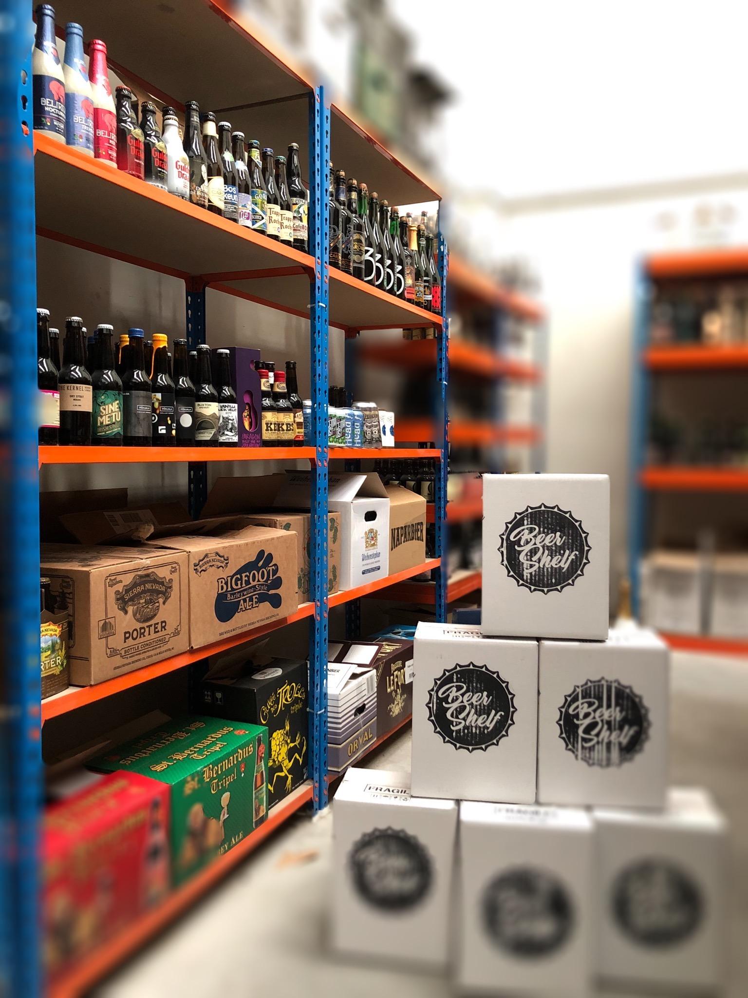 Foto Beer Shelf Estantería 2