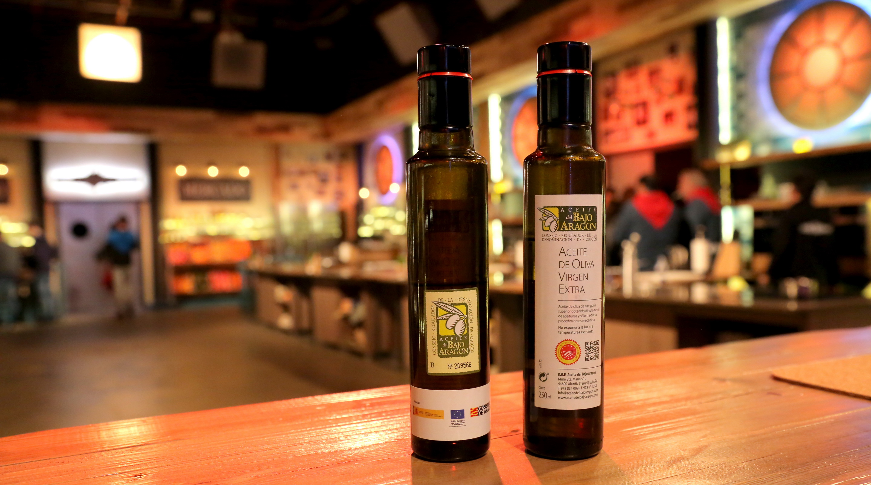 Botella genérica DOP Aceite del Bajo Aragón