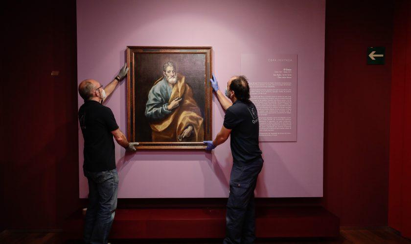 San Pedro, del Greco. Obra Invitada Museo Goya4