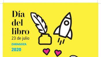 Cartel Día del LIbro Zaragoza – Estudio Novo