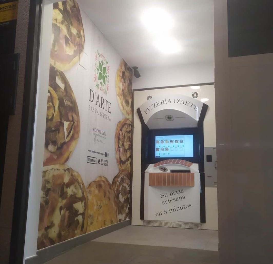 primer cajero pizzas