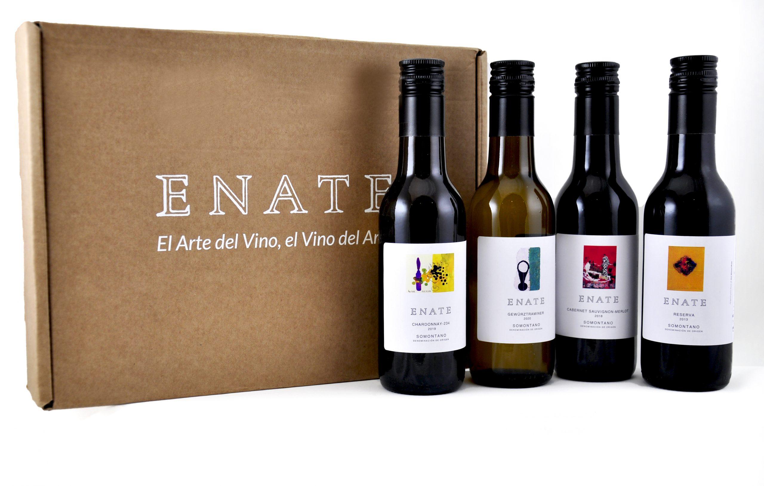 Durante la visita online de ENATE se catarán cuatro de sus vinos más esenciales