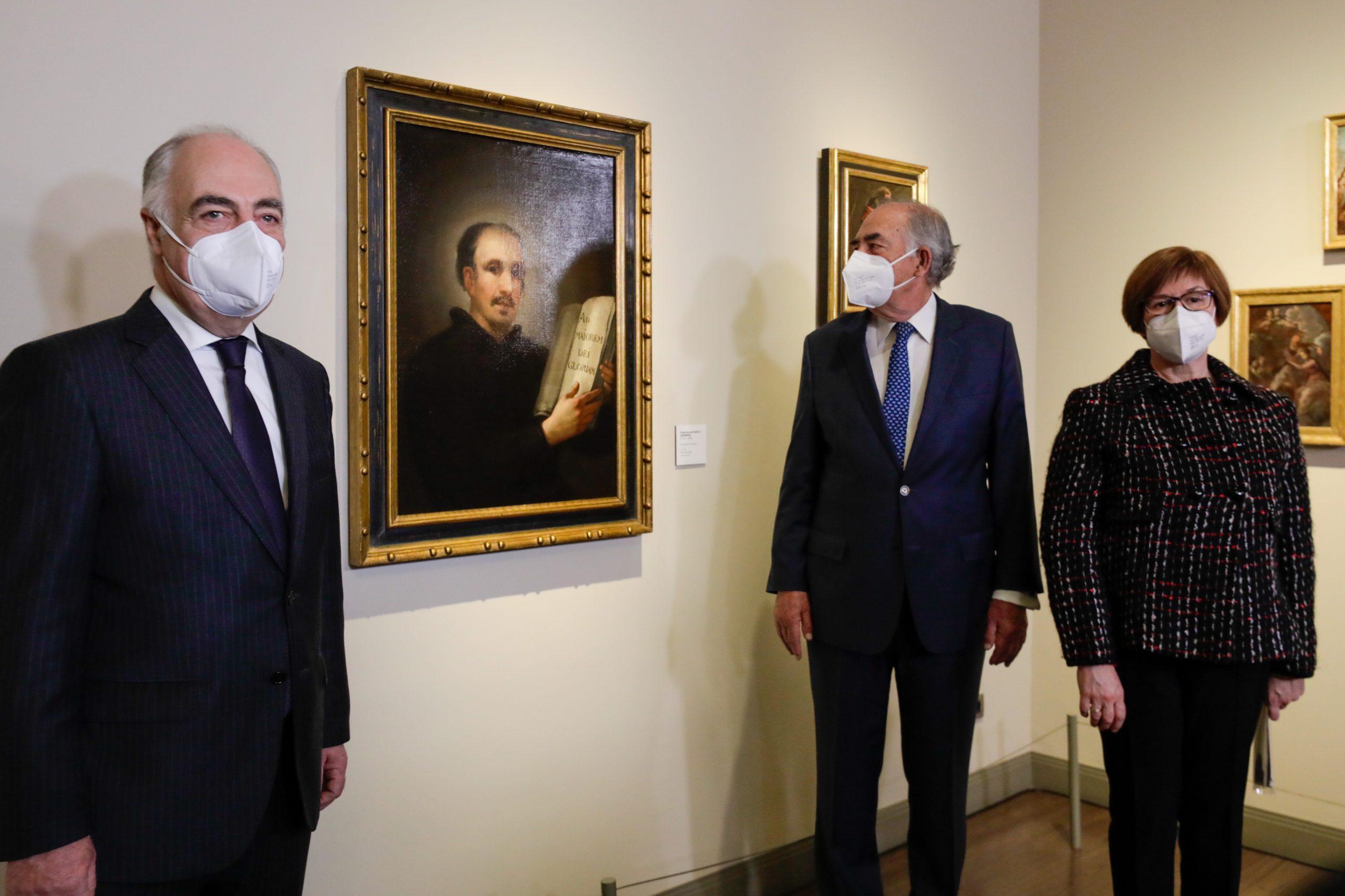 Presentación San Ignacio de Loyola. Museo Goya. Fundación Ibercaja1