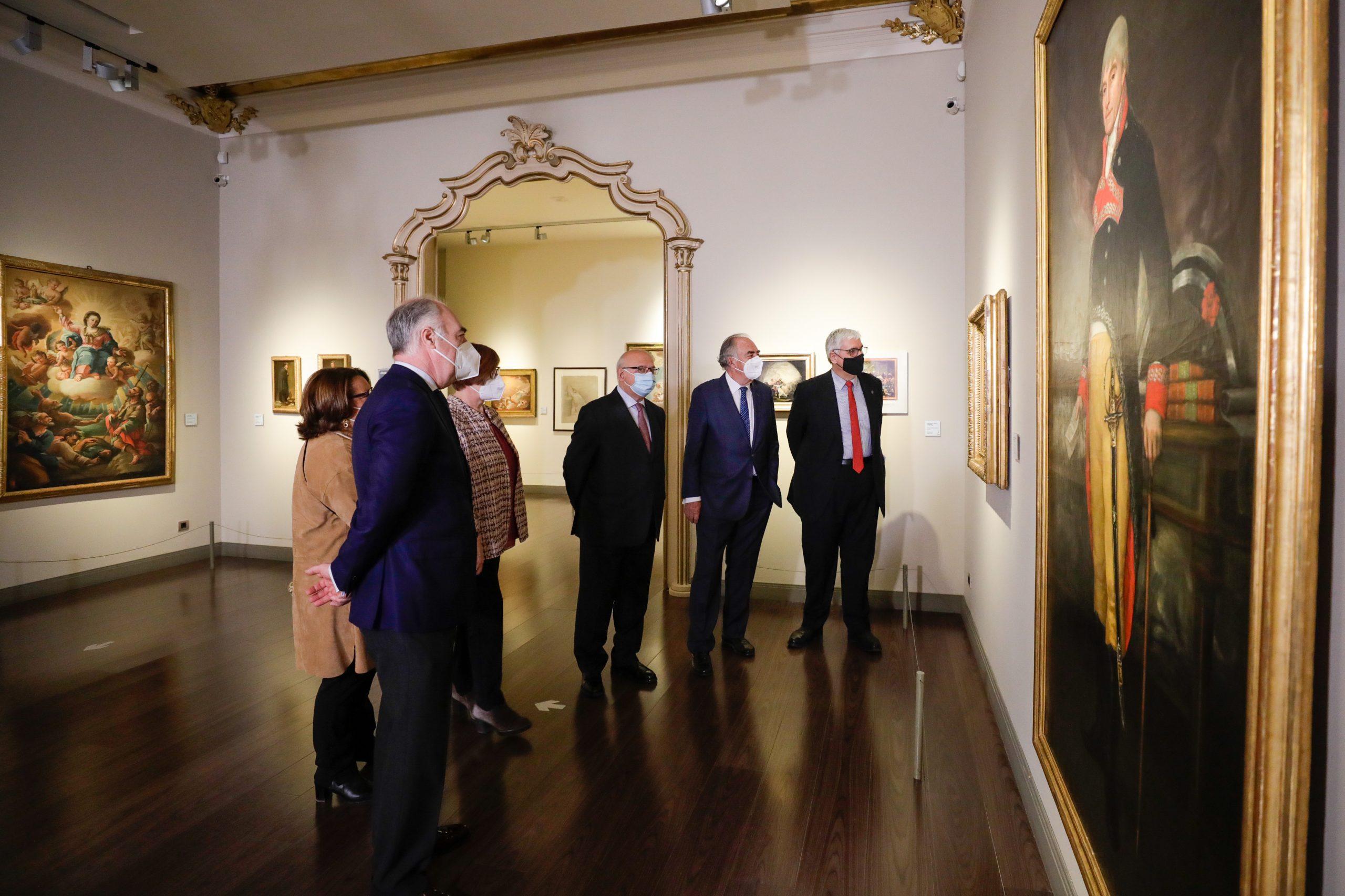 Presentación ciclo Goya, un pintor genial. Fundación Ibercaja y RSEAAP (2)