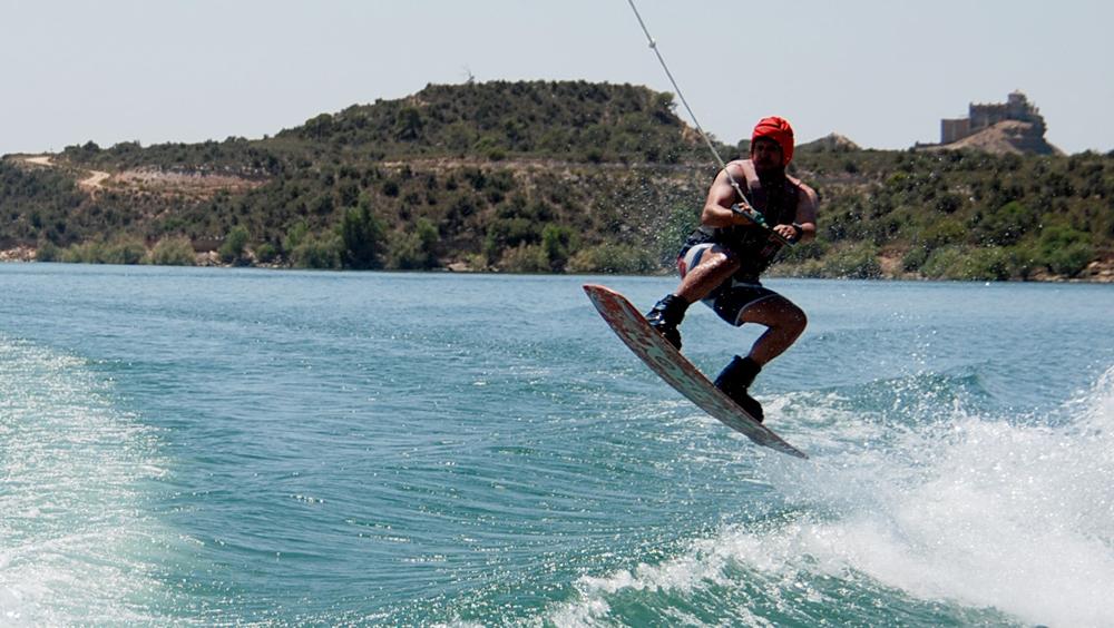 Esquí acuático Caspe