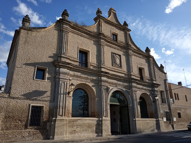Portería, acceso monumental a la Cartuja