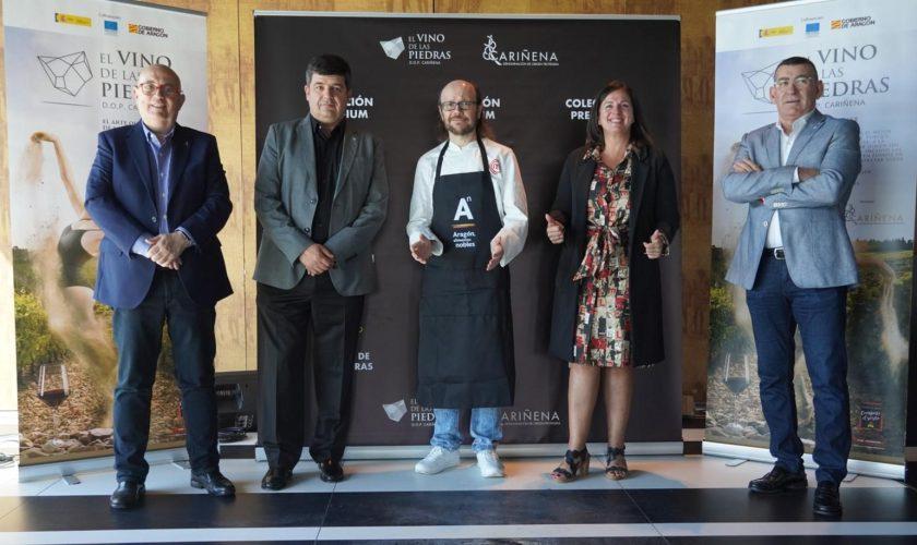 José Luis Campos, Antonio Ubide, Santiago Segura, Carmen Urbano y Claudio Herrero