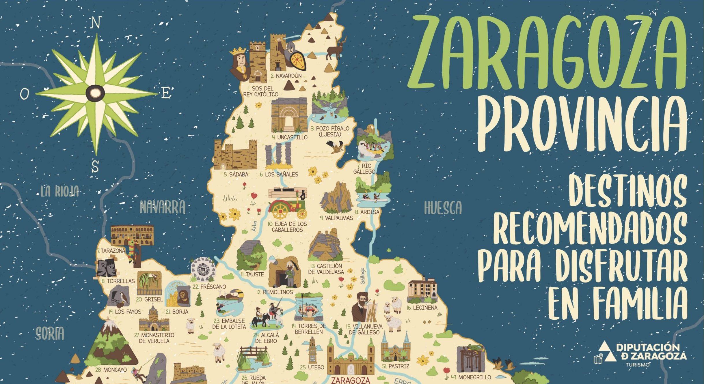 MAPA PROVINCIA ZARAGOZA. DPZ. ALTA -Web