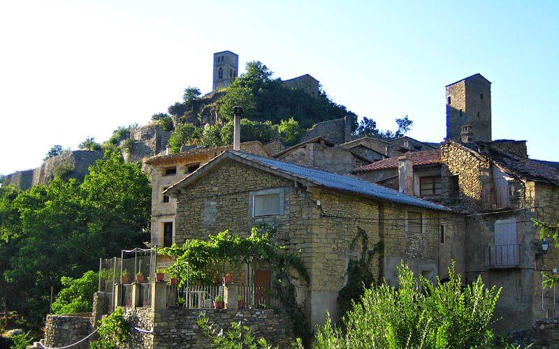 Vista de conjunto de Montanyana (Wikipedia)